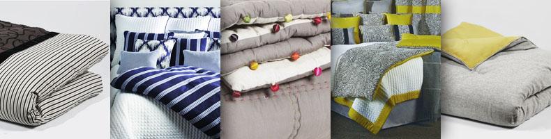 edredons dessus de lit lin glac velours coton. Black Bedroom Furniture Sets. Home Design Ideas