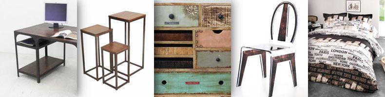 Industriel s lection d 39 objets de d coration style factory industriel - Objets deco industriel ...