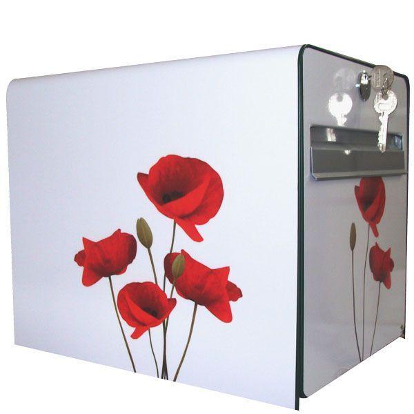 stickers bo te aux lettres d co coquelicot d coration. Black Bedroom Furniture Sets. Home Design Ideas