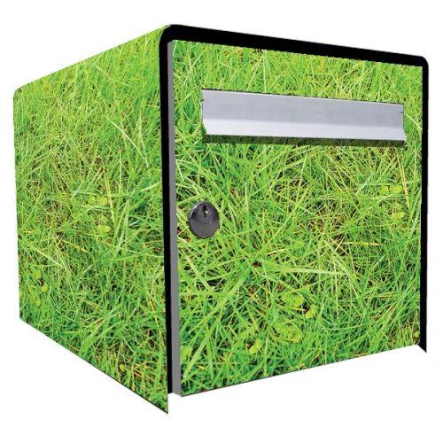 stickers bo te aux lettres d co herbe d coration. Black Bedroom Furniture Sets. Home Design Ideas