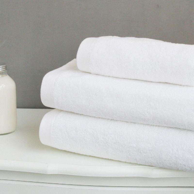 drap de bain ponge liou uni 685 gr blanc 100x150 linge de maison. Black Bedroom Furniture Sets. Home Design Ideas