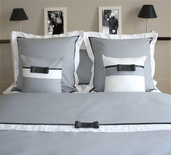 housse de couette percale audrey h 200x200 liou. Black Bedroom Furniture Sets. Home Design Ideas