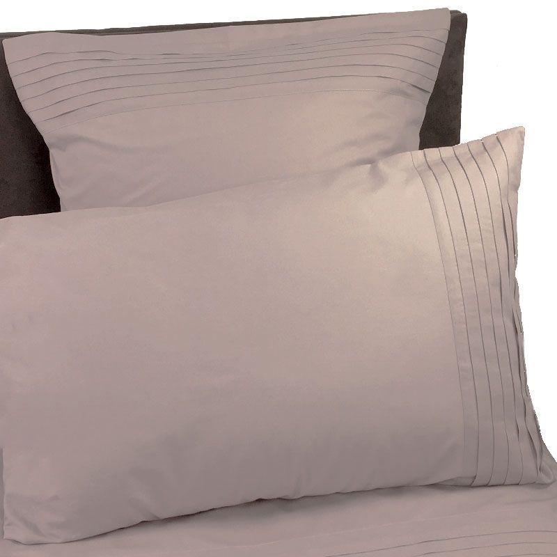 taie d 39 oreiller origami poudr percale 50x75 linge de maison. Black Bedroom Furniture Sets. Home Design Ideas