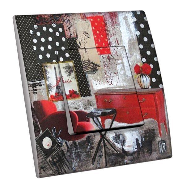 interrupteur d cor atelier d co paris chez vous poussoir d coration. Black Bedroom Furniture Sets. Home Design Ideas