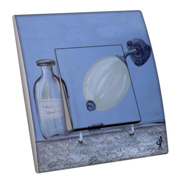 Interrupteur d cor salle de bain flacons de bain 2 - Spot salle de bain avec interrupteur ...