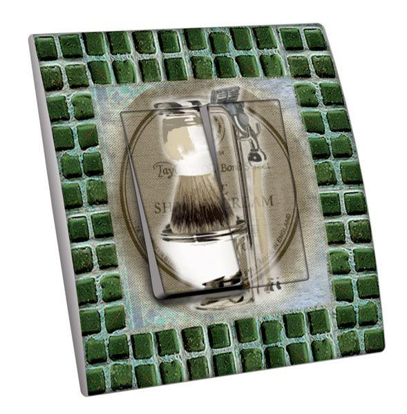 interrupteur d cor salle de bain le rasage double d coration. Black Bedroom Furniture Sets. Home Design Ideas