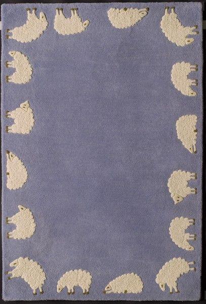 tapis cabriole daniel hechter bleu d coration. Black Bedroom Furniture Sets. Home Design Ideas