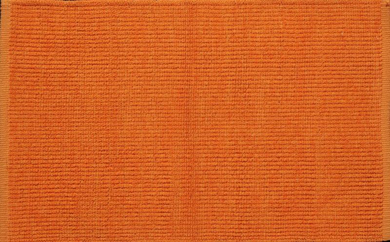Tapis de bain coton trendy orange 60x90 toulemonde bochart for Tapis toulemonde bochart soldes
