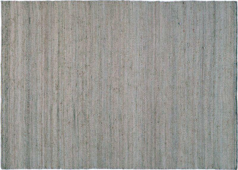 Tapis Jute Mats Gris Bleu 170x240 Decoration Decotaime Fr