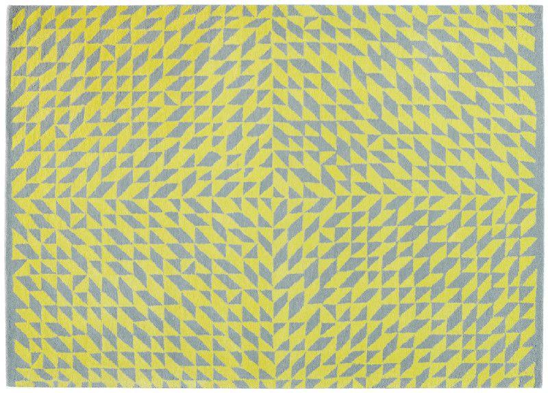 tapis laine energie gris jaune 170x240 toulemonde bochart. Black Bedroom Furniture Sets. Home Design Ideas