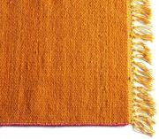 Tapis laine Joice orange 70x140 - Toulemonde Bochart
