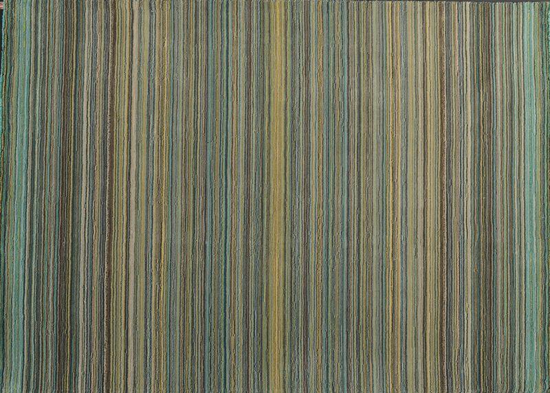 Tapis laine latina turquoise 140x200 toulemonde bochart - Tapis toulemonde bochart soldes ...