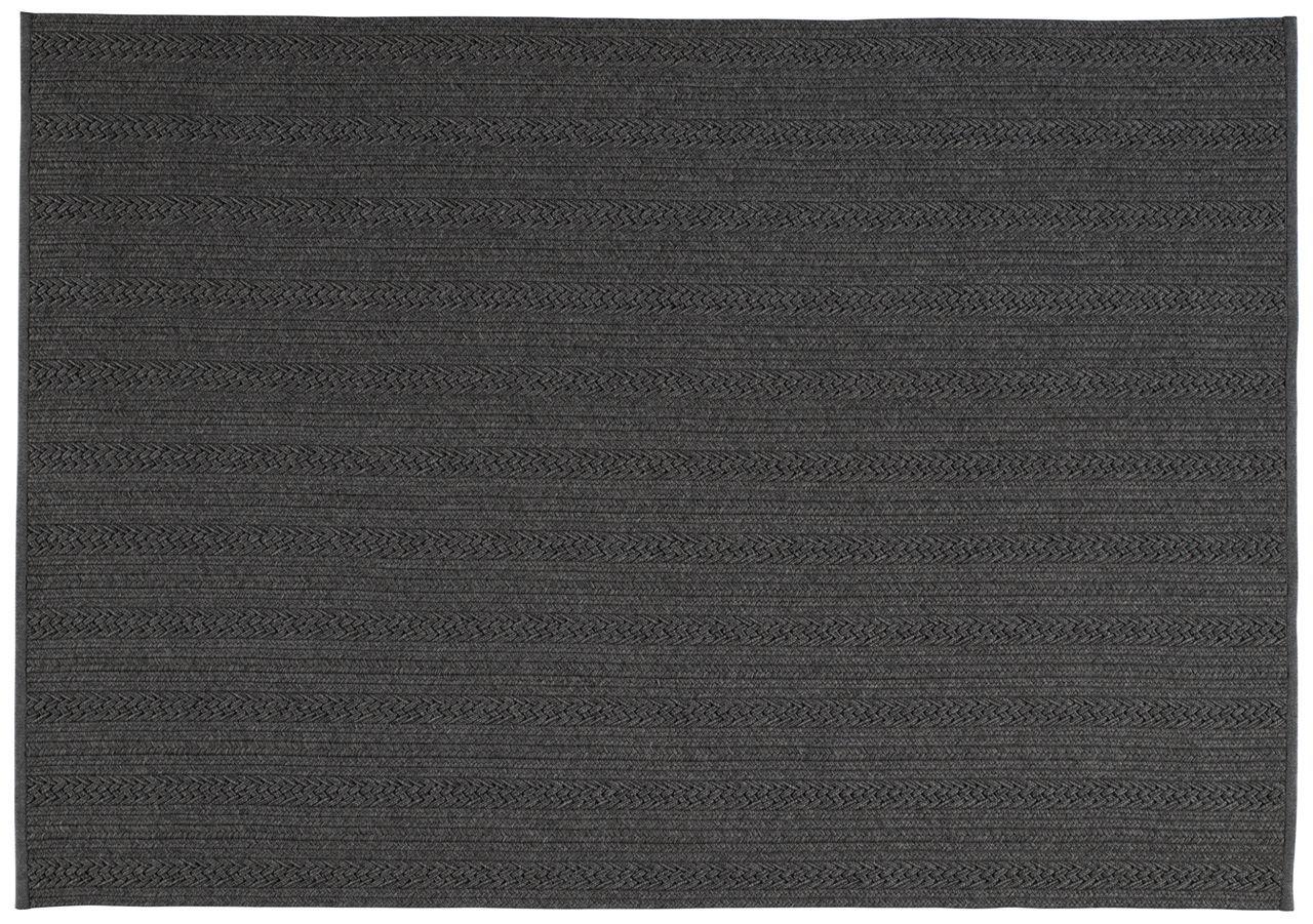 tapis polypropyl ne torsade anthracite 200x300. Black Bedroom Furniture Sets. Home Design Ideas