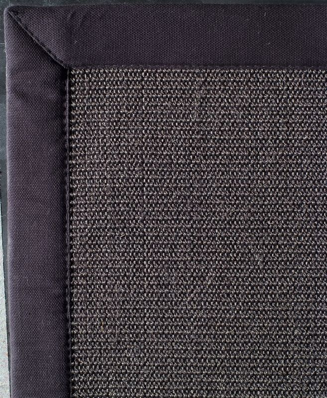tapis sisal simply anthracite noir 200x290 d coration. Black Bedroom Furniture Sets. Home Design Ideas
