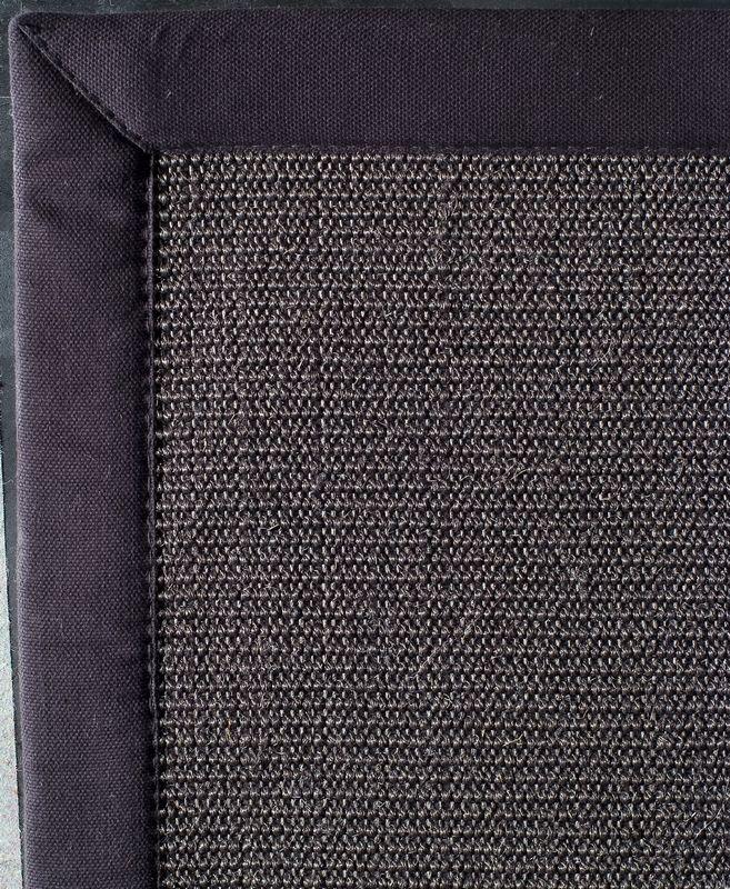 Tapis sisal simply anthracite noir 200x290 toulemonde - Tapis toulemonde bochart soldes ...