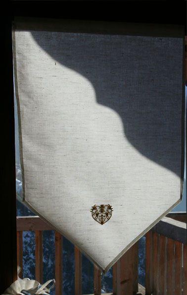 Rideau brise bise m tis pointe 45x60 bt for Fenetre 45x60