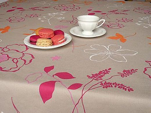 nappe fleur de soleil table de cuisine. Black Bedroom Furniture Sets. Home Design Ideas
