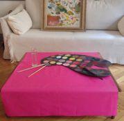 nappes nappes coton enduit. Black Bedroom Furniture Sets. Home Design Ideas