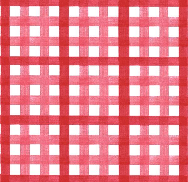 nappe coton enduit vichy rouge 120x120 fleur de soleil. Black Bedroom Furniture Sets. Home Design Ideas