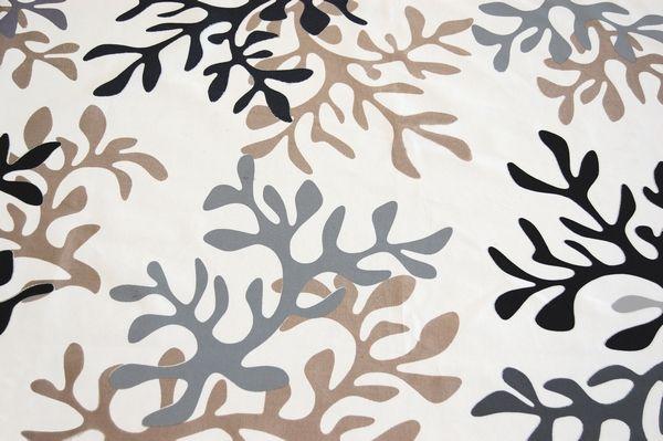 nappe enduite corail gris beige carr e 120x120 fleur de soleil. Black Bedroom Furniture Sets. Home Design Ideas