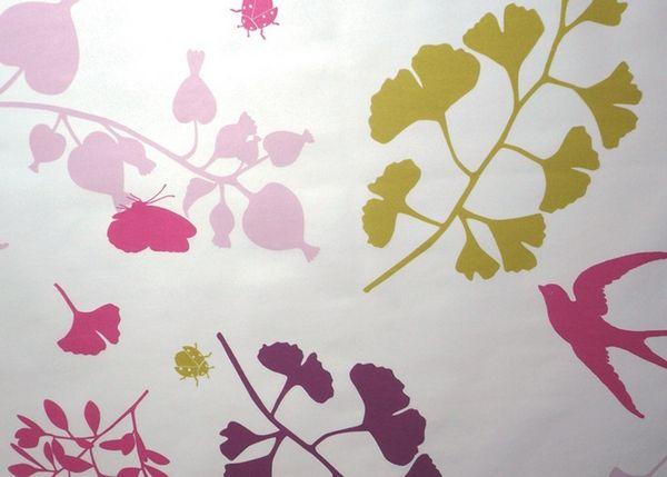 nappe enduite hirondelle prune carr e 120x120 fleur de soleil linge de maison. Black Bedroom Furniture Sets. Home Design Ideas