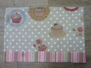 Set de table coton Cup cake 35x45 - Douce France