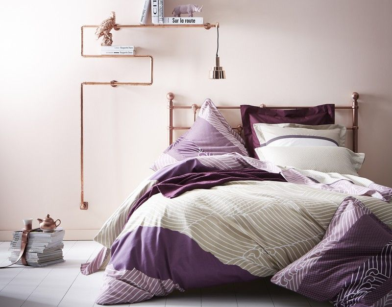 linge de lit essix home collection Drap de lit Zahara satin de coton 180x290   Linge de maison  linge de lit essix home collection