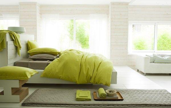housse de couette lin lav d lices taupe 260x240 linge de maison. Black Bedroom Furniture Sets. Home Design Ideas