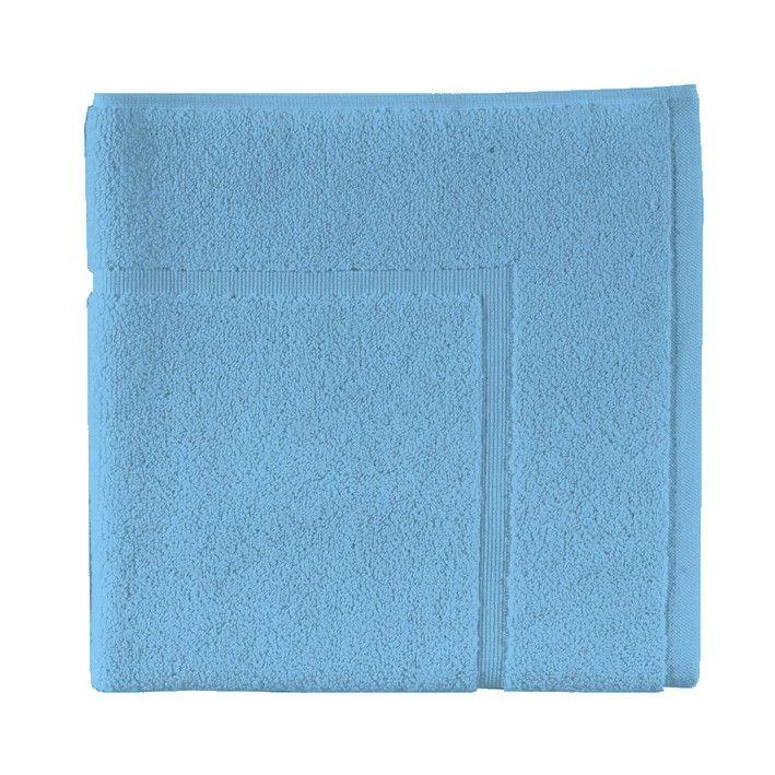 tapis de bain essix uni turquoise 60x60 essix home. Black Bedroom Furniture Sets. Home Design Ideas