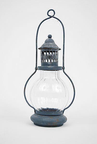 lanterne m tal et verre marin luminaires. Black Bedroom Furniture Sets. Home Design Ideas