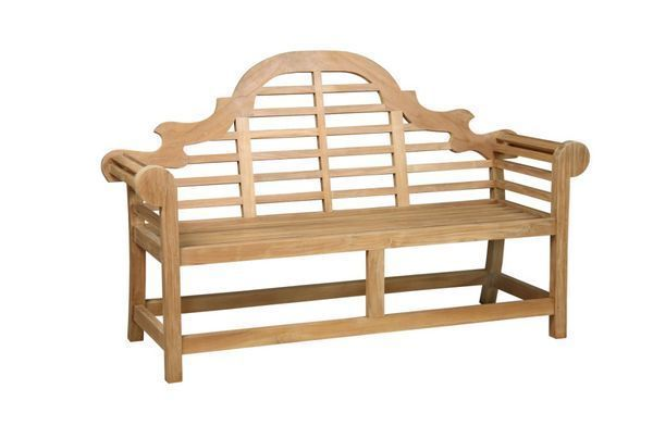 Banc de jardin teck norwalk 120 cm meubles de jardin - Banc en teck pour jardin ...