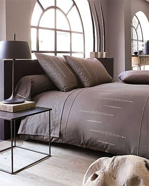 housse de couette percale olga 200x200 linge de maison. Black Bedroom Furniture Sets. Home Design Ideas
