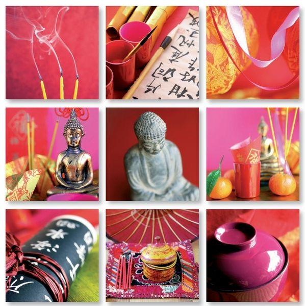 D coration bouddhiste id e inspirante pour la conception de la maison - Deco chambre bouddha ...