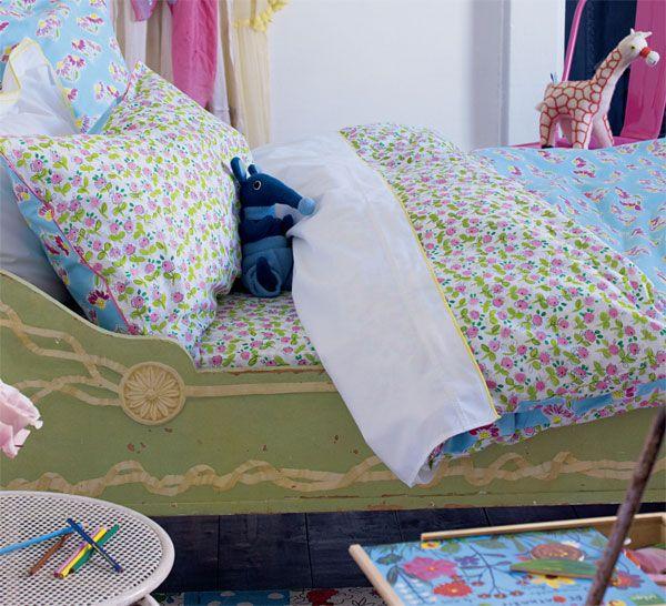 Housse de couette flora 140x200 designers guild for Housse de couette 140 x 150