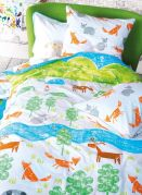 Housse de couette coton The Great Outdoors 140x200 - Designers Guild