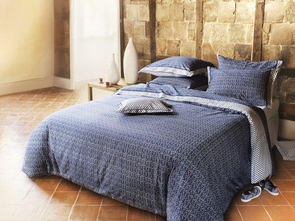 housse de couette satin de coton manade 140x200. Black Bedroom Furniture Sets. Home Design Ideas