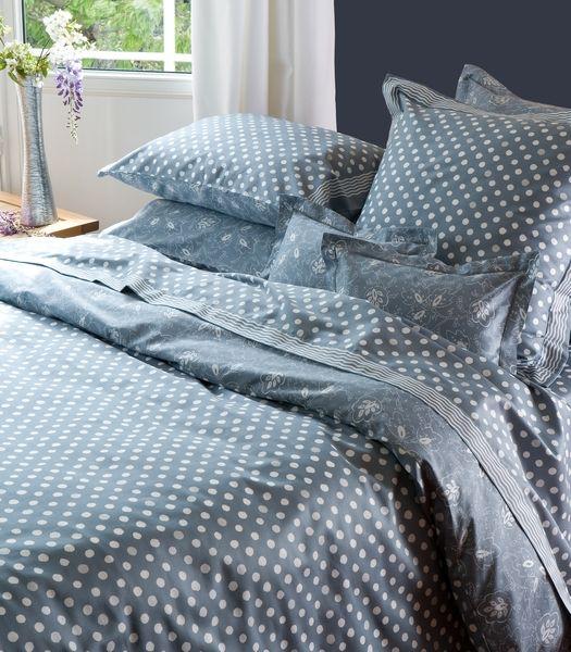 housse de couette satin de coton montmajour 200x200. Black Bedroom Furniture Sets. Home Design Ideas