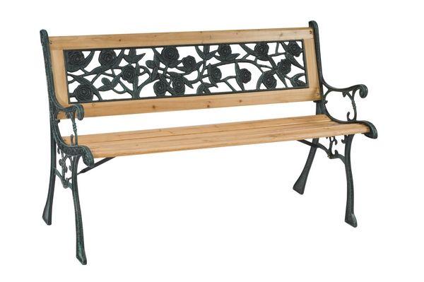 banc de jardin bois fonte. Black Bedroom Furniture Sets. Home Design Ideas