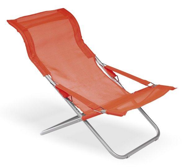 fauteuil de jardin polyester loggia orange. Black Bedroom Furniture Sets. Home Design Ideas