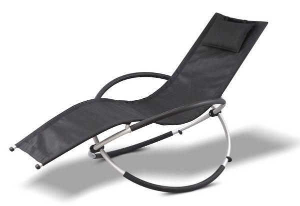 fauteuil relax attitude noir meubles de jardin. Black Bedroom Furniture Sets. Home Design Ideas