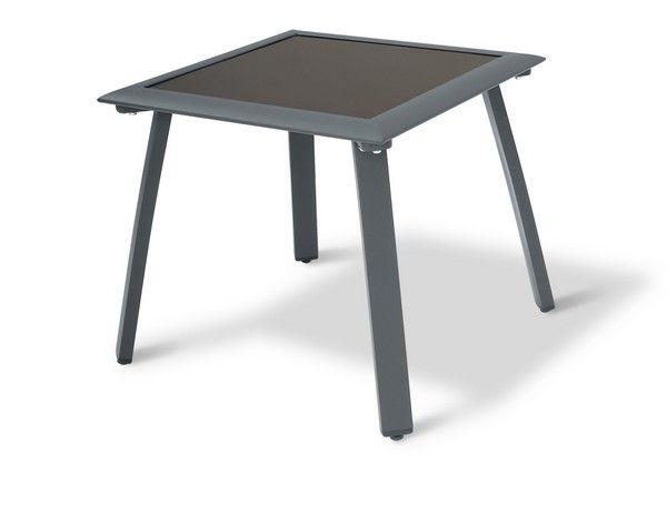 Table basse de jardin aluminium Sunset - Meubles de jardin ...