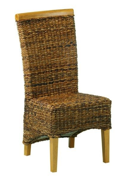 Chaise Abaca Avec Dosseret Pin