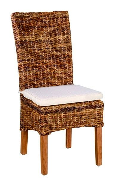 Chaise Abaca Avec Galet