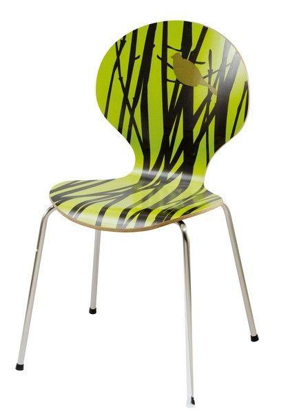 chaise design angel nature verte mobilier. Black Bedroom Furniture Sets. Home Design Ideas