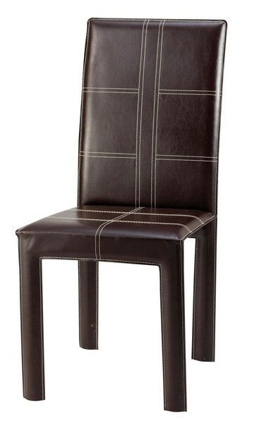 Chaise design cuir recycle Betty chocolat L11930 Résultat Supérieur 5 Inspirant Chaise En Cuir Stock 2017 Kdh6
