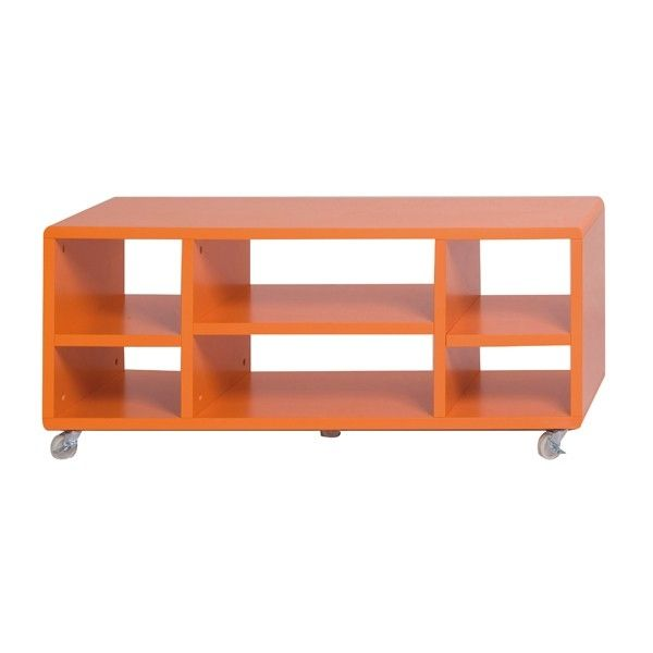 Meuble chambre orange for Meuble orange