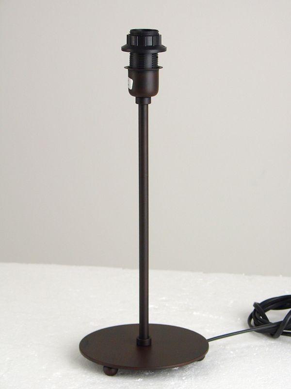 Pied De Lampe Metal Marron Luminaires Decotaime Fr