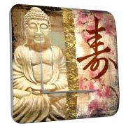 Interrupteur déco Bouddha zen simple - DKO Interrupteur