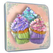 Interrupteur déco Cup Cake simple - DKO Interrupteur