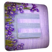 Interrupteur déco Fleur / Iris simple - DKO Interrupteur